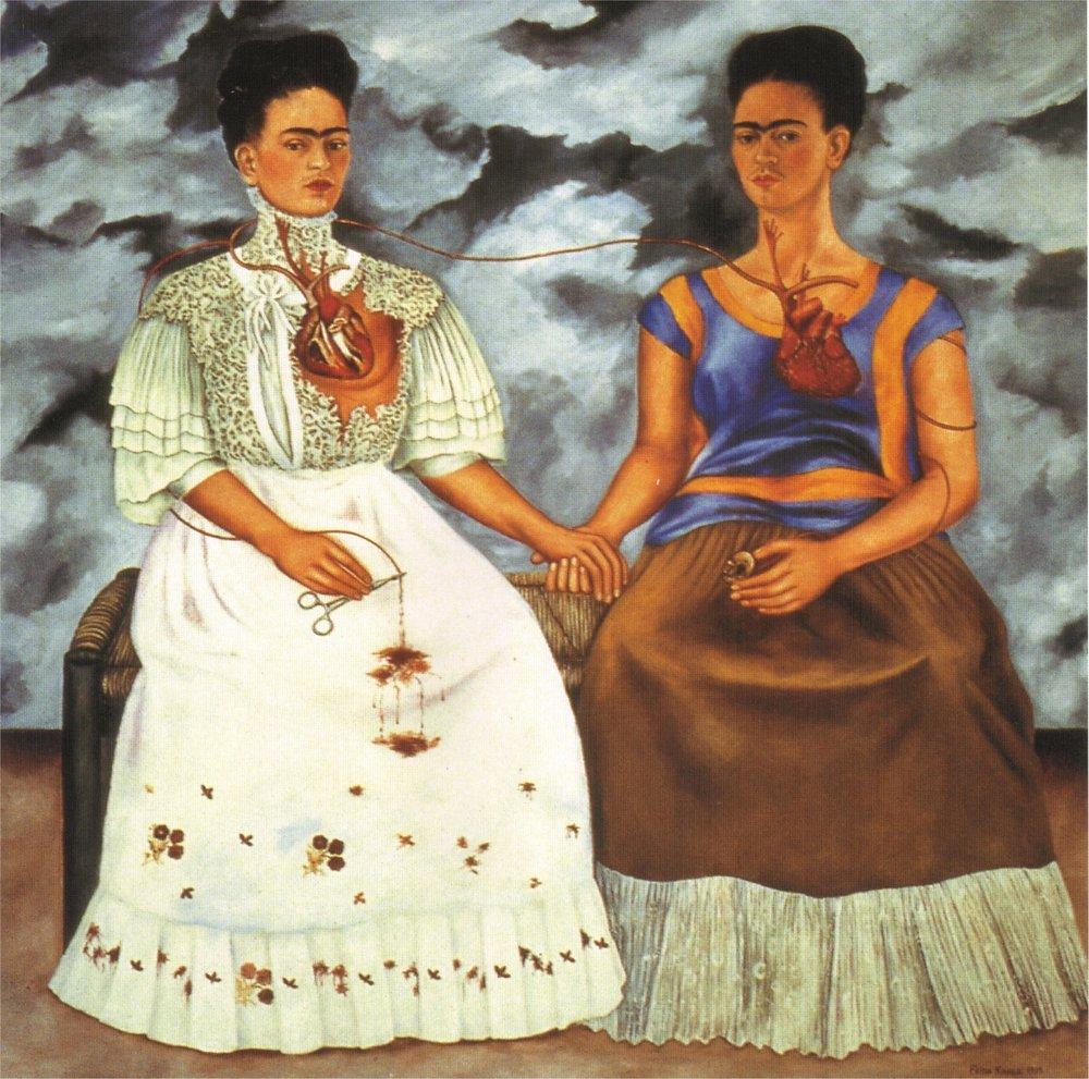 Frida Kahlo - Two Fridas - 1939 - oil on canvas