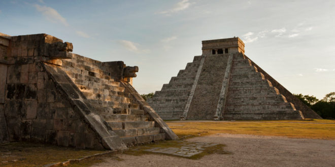 Chichén Itzá, located in Yucatan, Mexico