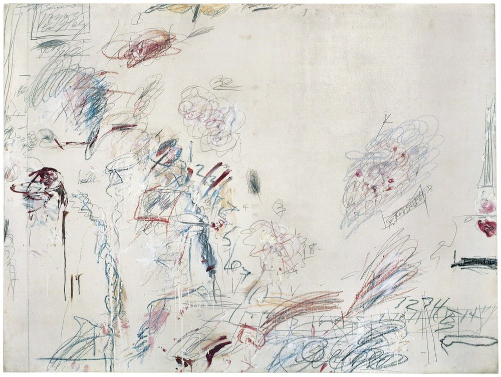Cy Twombly, Second Voyage to Italy (Second Version), 1962