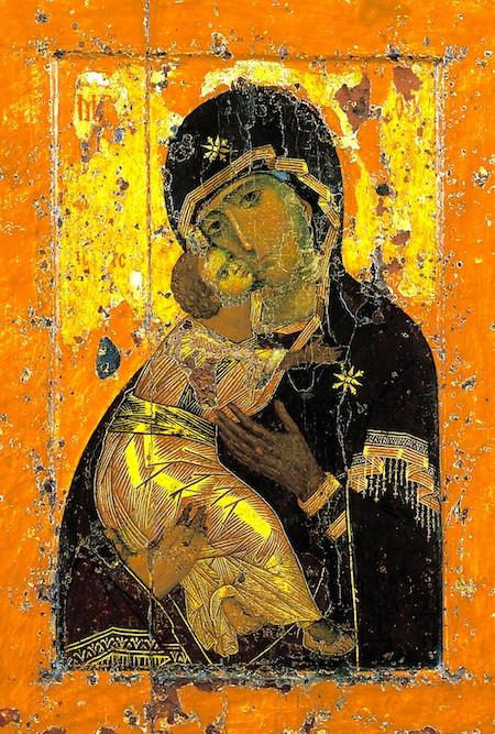 Virgin of Vladimir , 11th century, Byzantine Empire (most likely Constantinople)