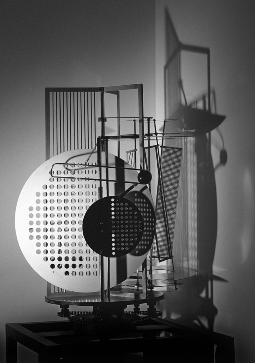 Laszlo Moholy-Nagy,  Light Space Modulator , 1930