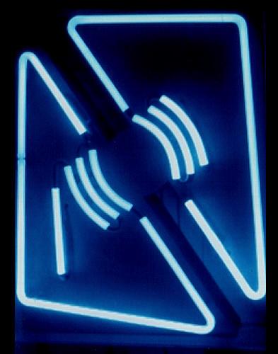 Gyula Kosice, Madi Luminous Structure F,  1946, neon
