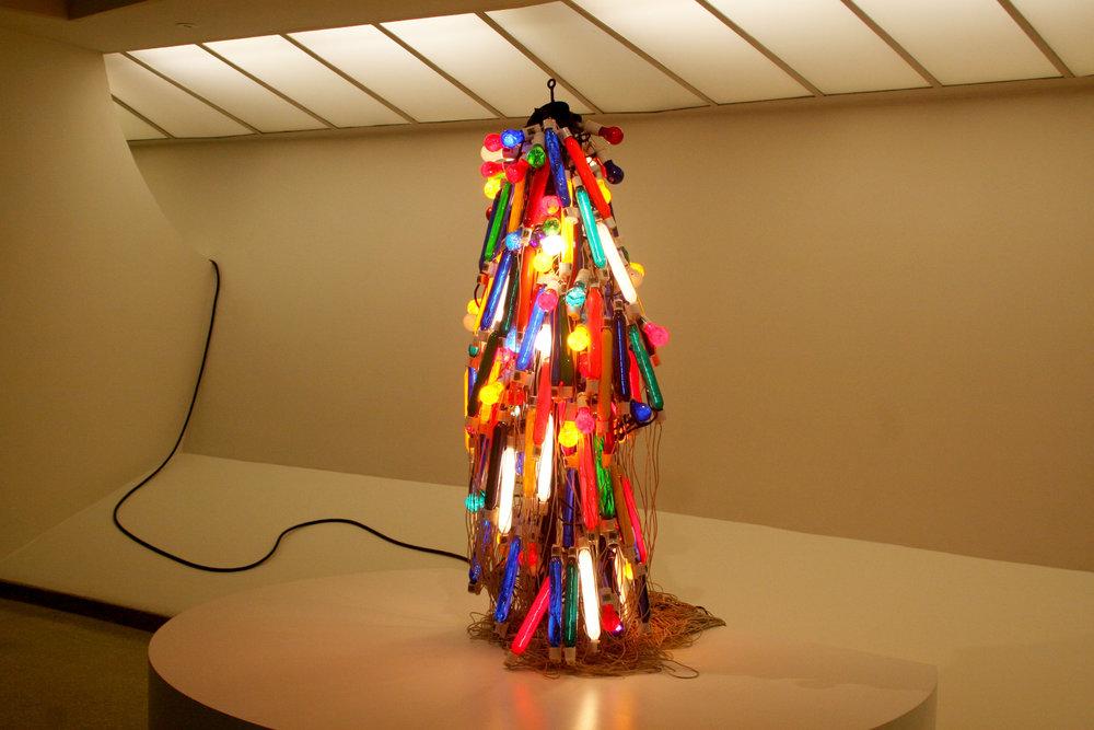 Atsuko Tanaka,  Electric Dress , 1956
