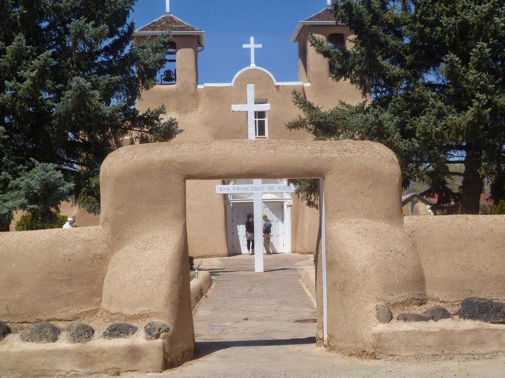Rancho de Taos Church, Taos, New Mexico