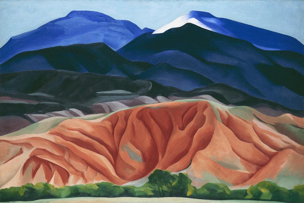 Georgia O'Keeffe,  Black Mesa Landscape