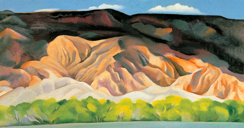 Georgia O'Keeffe,  Back of Marie's No. 4 , 1931, oil on canvas