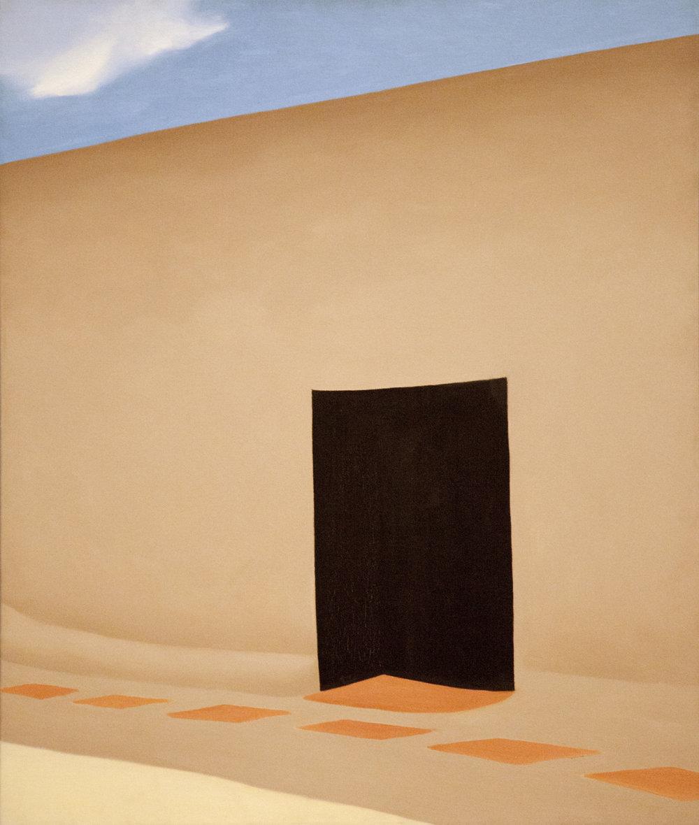 Georgia O'Keeffe,  Patio with Cloud , 1956, oil on canvas