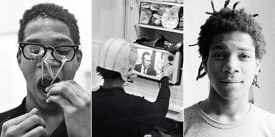 Photos of Basquiat taken by his friend Alexis Adler