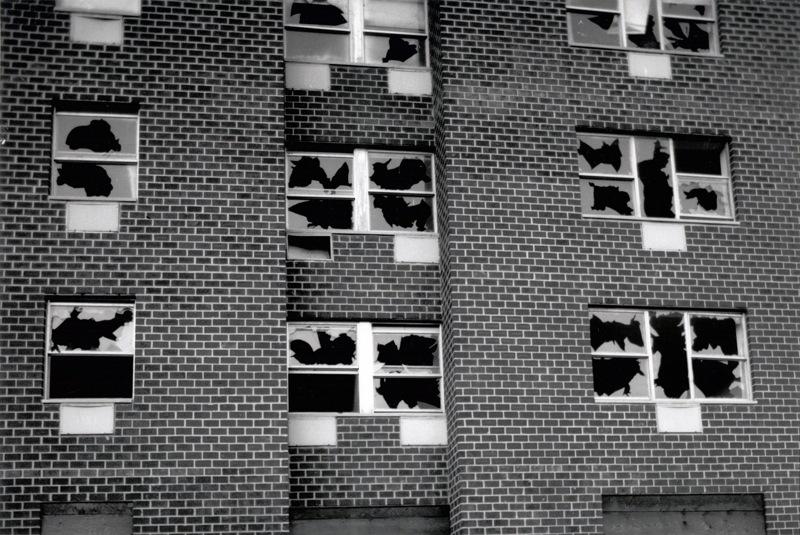 Gordon Matta-Clark,  Window Blowout , 1976