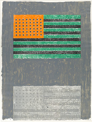 Jasper Johns,  Ventriloquist,  1983