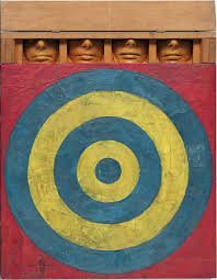 Jasper Johns,  Target with Four Faces , 1955