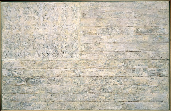 Jasper Johns,  White Flag , 1955