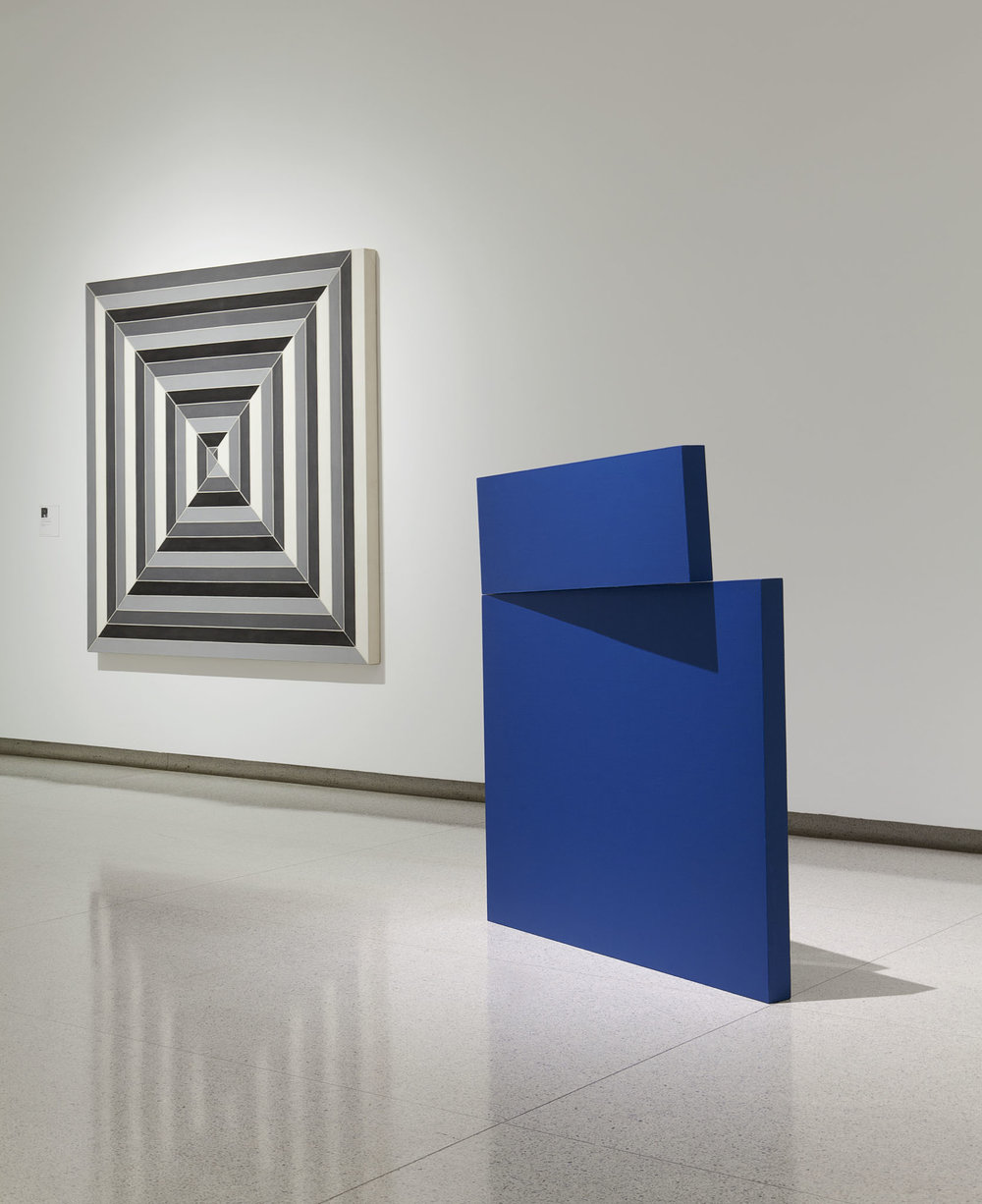 Carmen Herrera exhibit at the Walker Art Center
