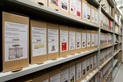 Archives in the National Museum, Oslo