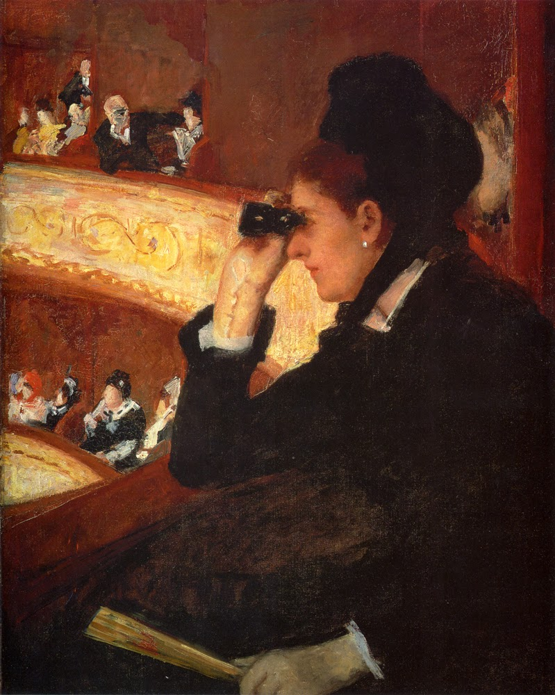 Mary Cassatt,  The Opera , 1877