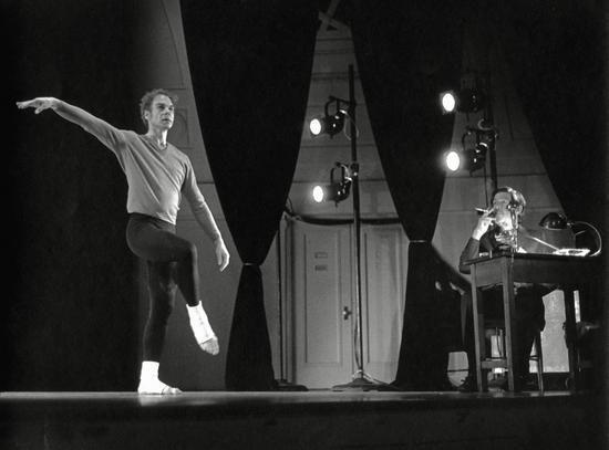 Merce Cunningham and John Cage
