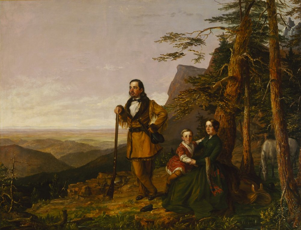 William Jewett's  The Promised Land - The Grayson Family , 1850