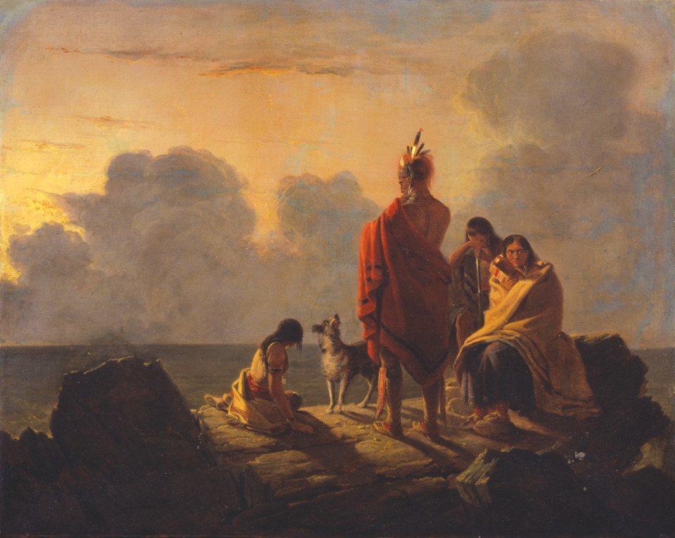 Tompkins Harrison Matteson,  The Last of the Race , 1847