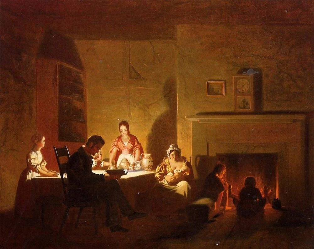 George Caleb Bingham,  Family Life on the Frontier