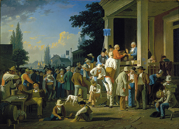 George Caleb Bingham,  The County Election