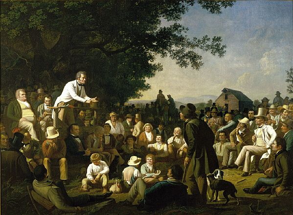 George Caleb Bingham,  Stump Speaking