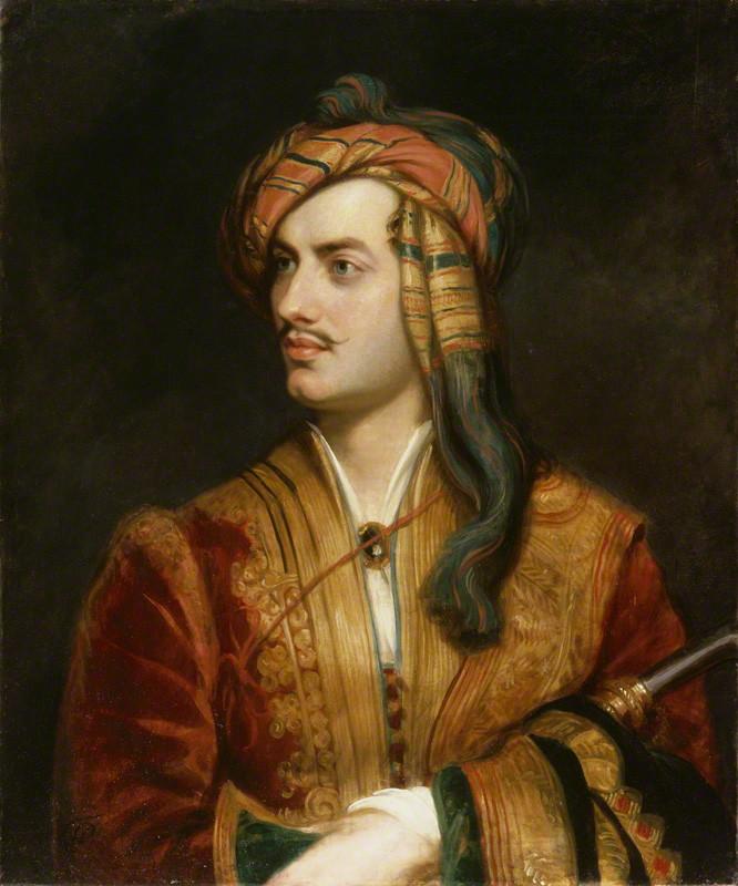 """Lord Byron - the original """"bad boy"""""""