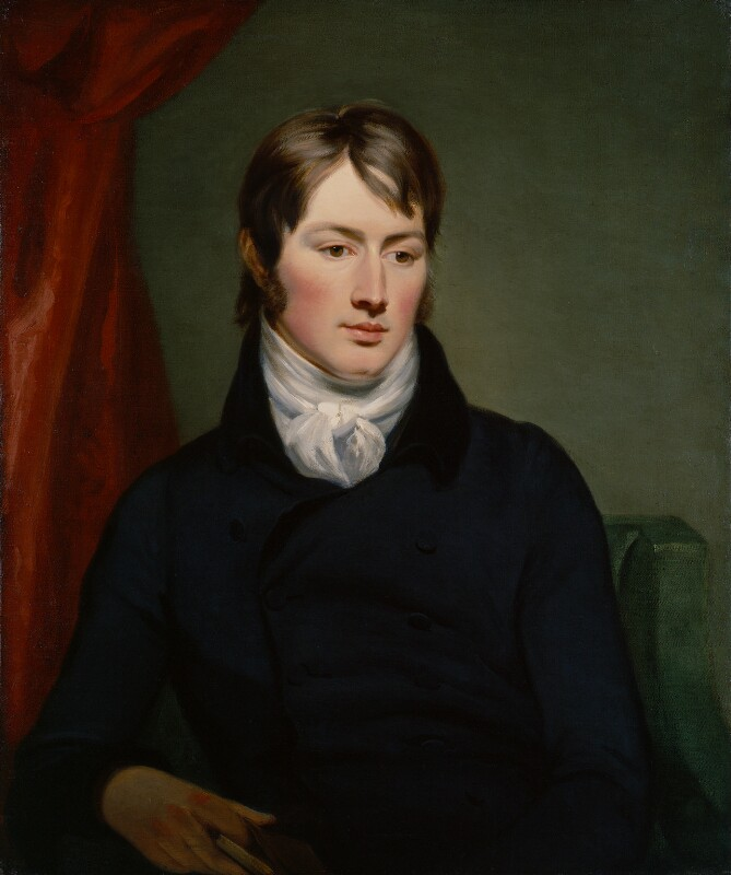 Portrait of John Constable  by Ramsay Richard Reinagle, 1799