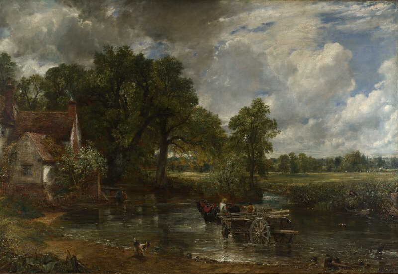 John Constable,  The Hay Wain , 1821, National Gallery, London