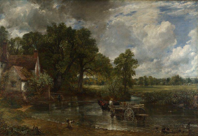 John Constable,  The Hay Wain , 1821, National Gallery, London