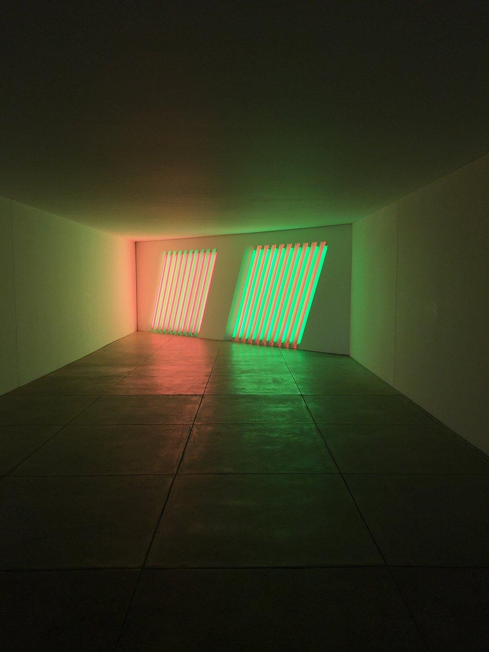 Dan Flavin,  untitled (Marfa project) , 1996