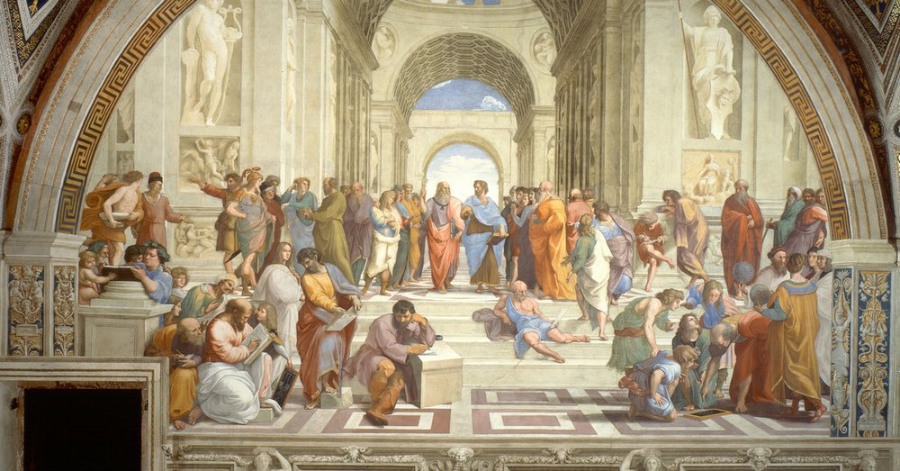 Raphael,  The School of Athens , 1509-1511