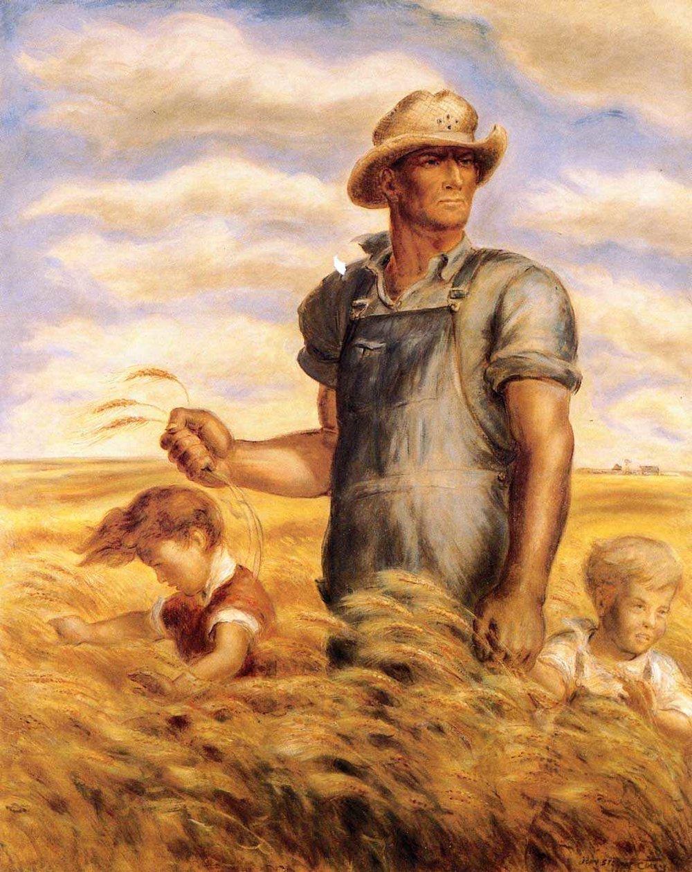 John Steuart Curry,  Our Good Earth