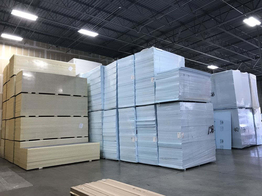 Fully Stocked Warehouse: FRP, Insulation and Adhesives
