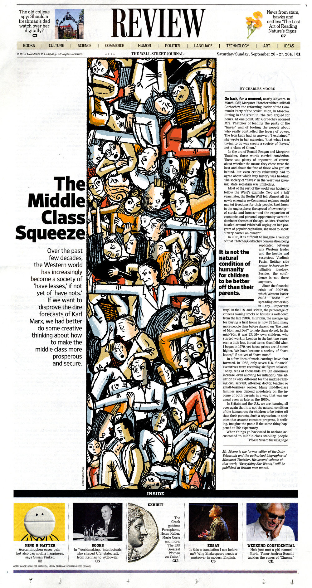 WSJ- Keith Webb art directed this. Always great.
