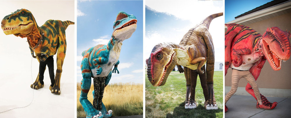 T-Rex and Raptor for Hire