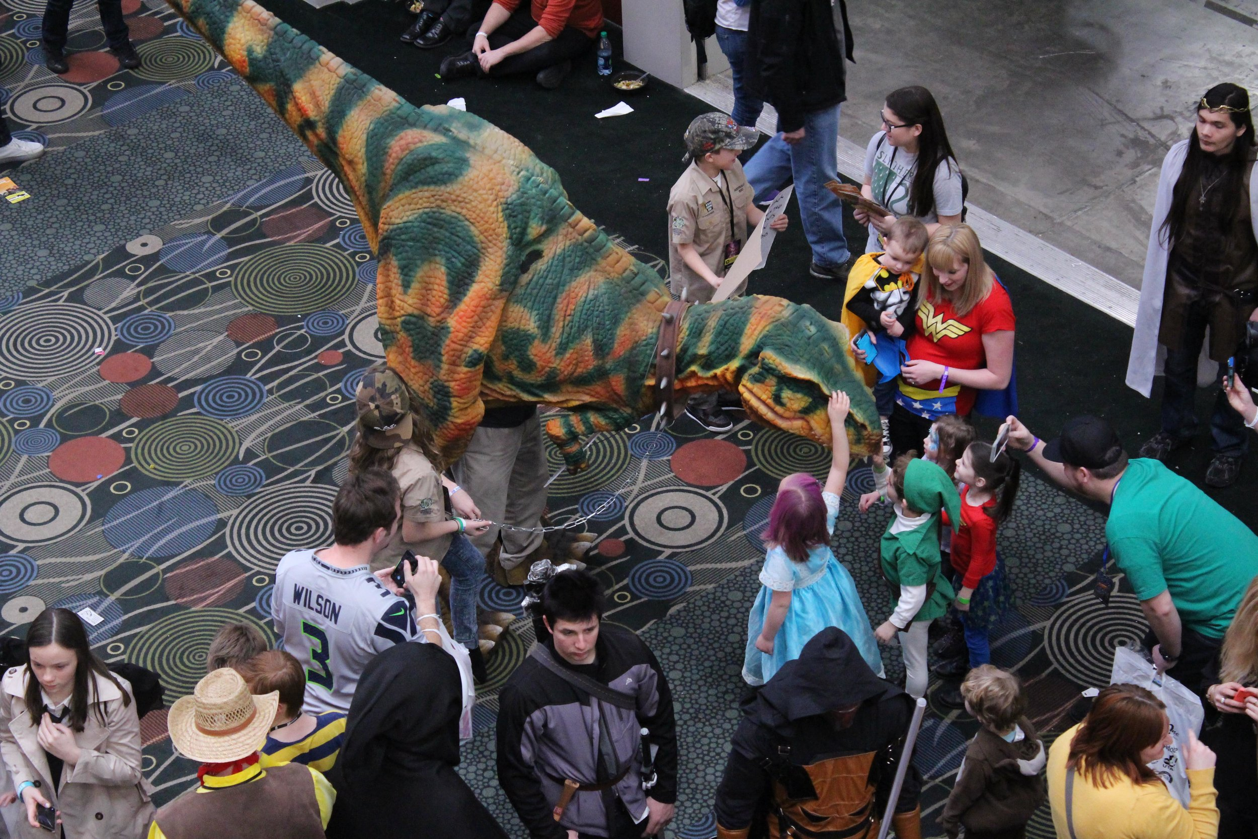 dinosaur for kid parties
