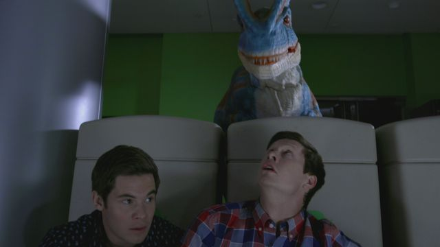 Workaholics Dinosaur - Night at the Dudeseum