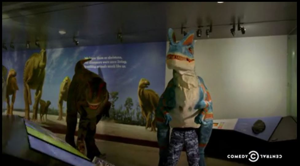 Dinosaurs in Televison