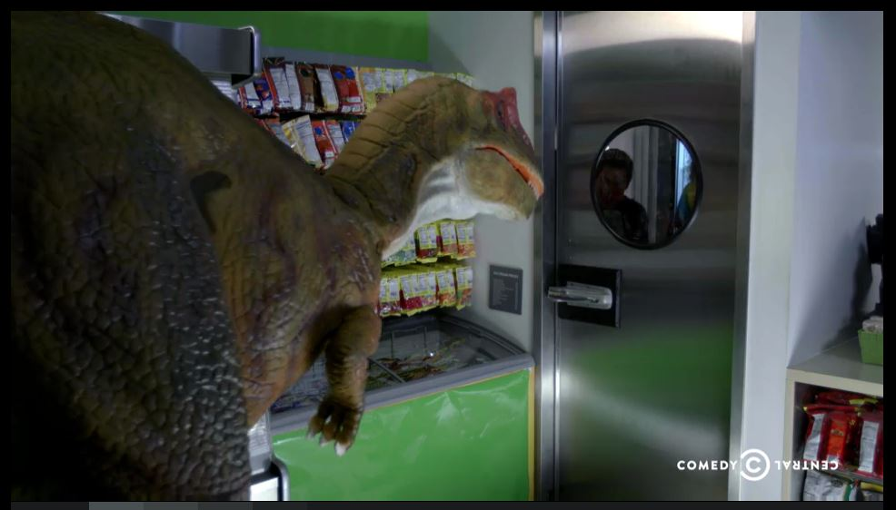 Workaholics Dinosaur