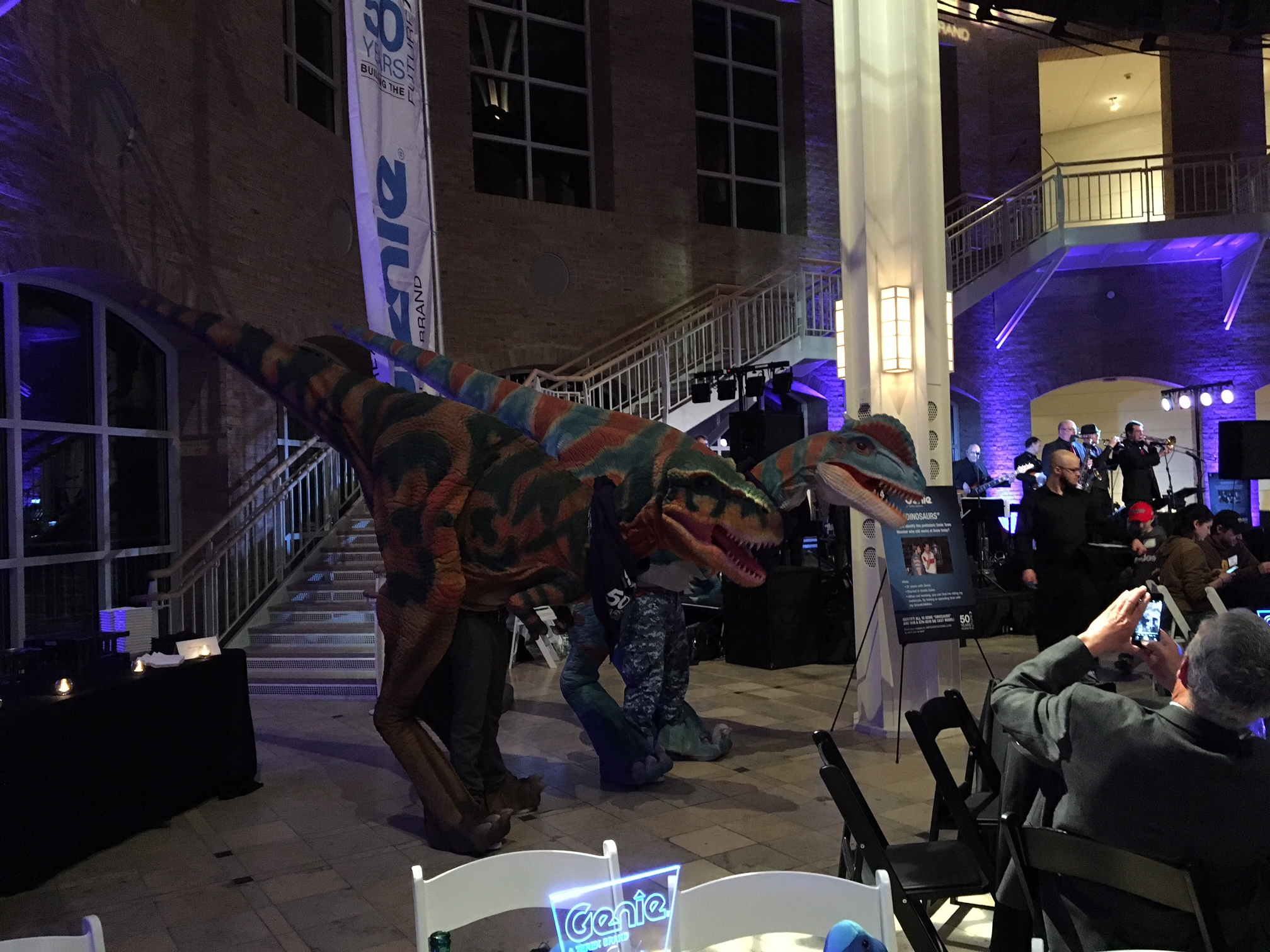 Dinosaur Performers Atlanta