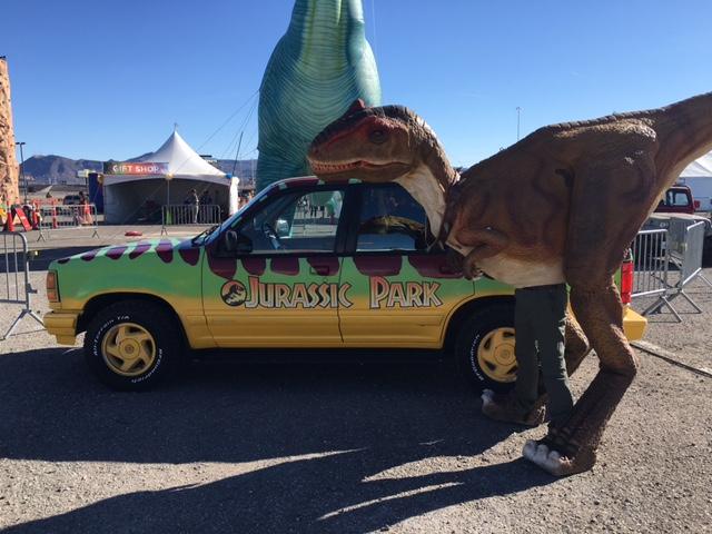 Jurassic Park Event Las Vegas