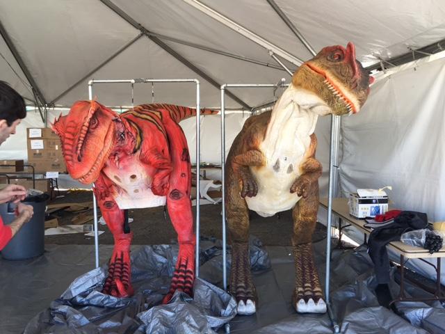 Walk with dinosaurs Las Vegas