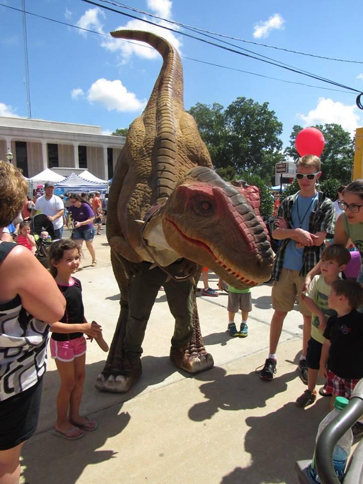 Ruston Dinosaurs