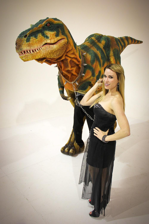 Hire a Dinosaur performer