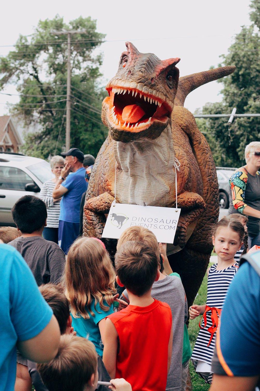 Lifesize dinosaur costume.JPG