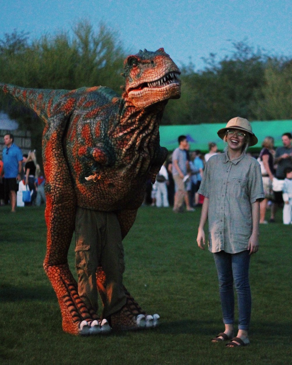 T-Rex and Handler.JPG