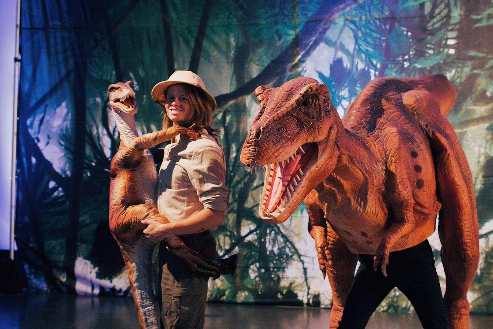 Jurassic park corporate event.JPG