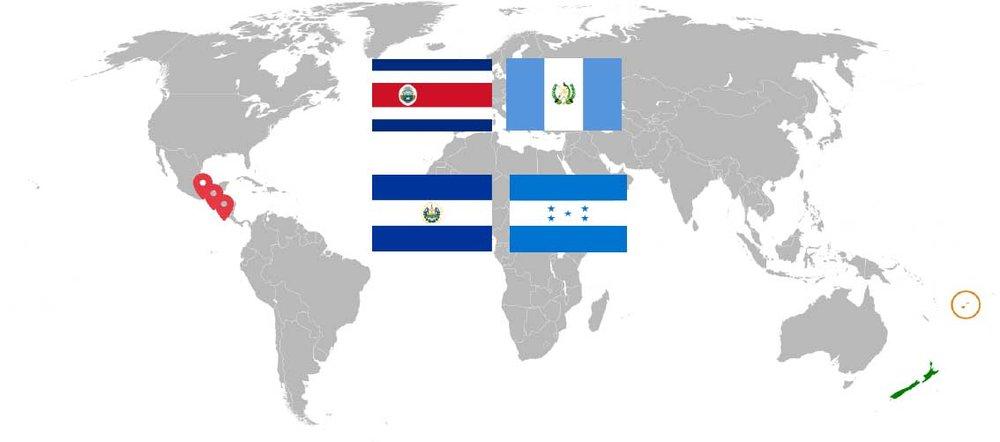 Disponible en - Costa Rica, Nicaragua, Guatemala y Honduras