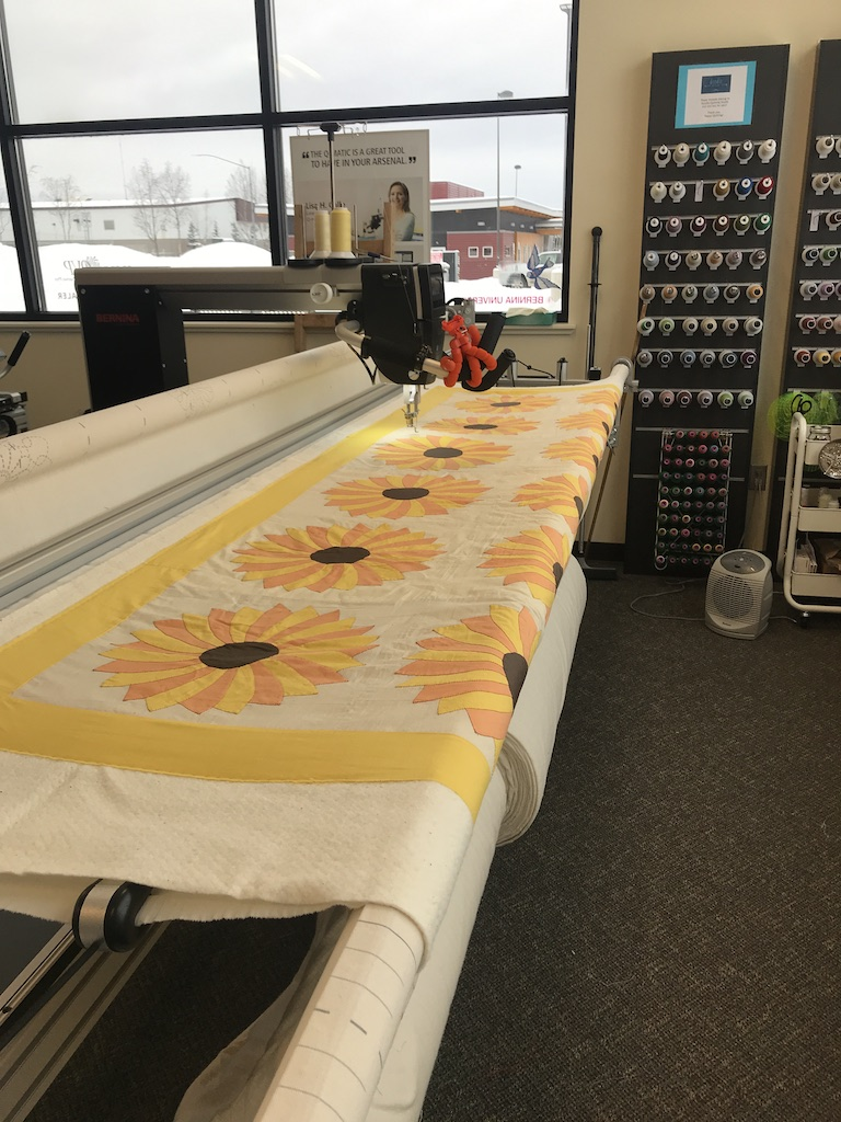 Vintage Sunflower Quilt