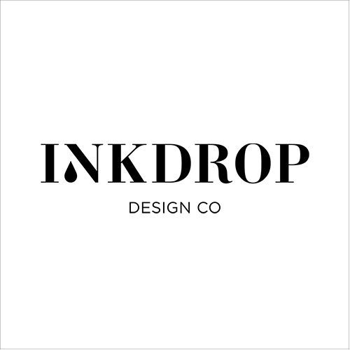Inkdrop Design Co   Inkdrop Design Co generously gifted our branding, and work with us for discounted design services! So thankful for this #dreamteam